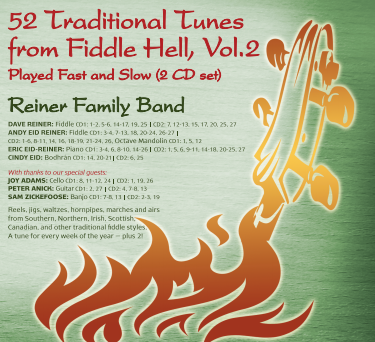 52 Traditional Tunes from Fiddle Hell